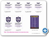 Plastic Card - Templestowe Football Club