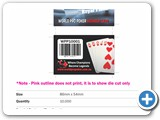 Plastic Card Layout World Pro Poker May 2014