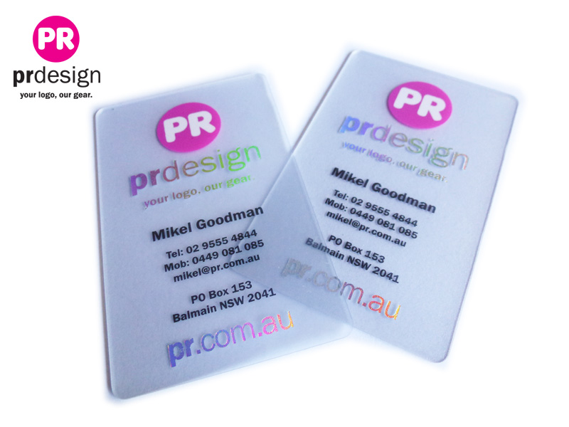 Plastic Card printing by the Australian Plastic Card experts, PR